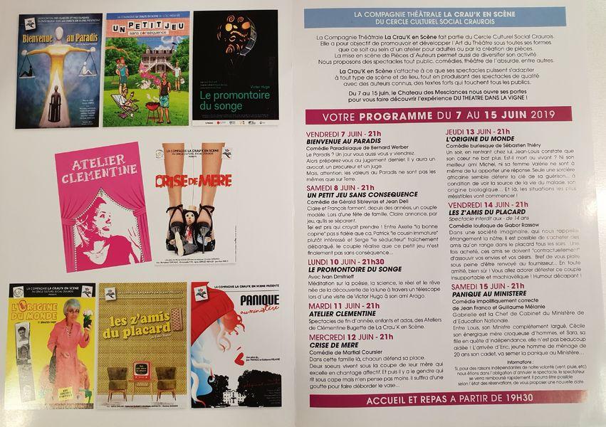 Festival théâtre dans les vignes La Crau'K en scène à La Crau - 1