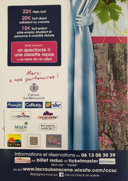 Festival théâtre dans les vignes La Crau'K en scène à La Crau - 2