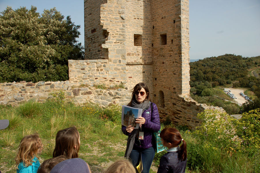 Investigation at hyeres' castle (for children) à Hyères - 2