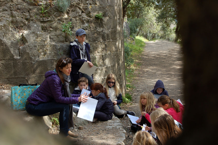 Investigation at hyeres' castle (for children) à Hyères - 6