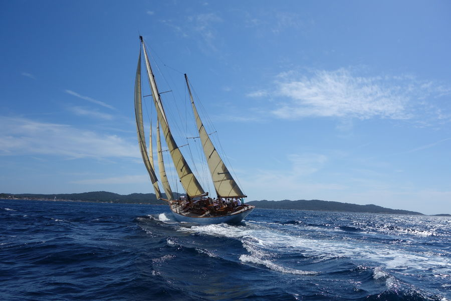 Porquerolle's classic regatta à Hyères - 4