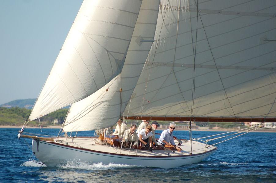 Porquerolle's classic regatta à Hyères - 6