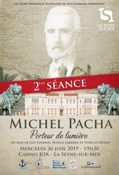 """Film documentaire """"Michel Pacha, porteur de lumière"""" à La Seyne-sur-Mer - 0"""