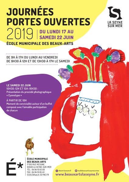 Semaine portes ouvertes de l'école municipale des beaux-arts de La Seyne à La Seyne-sur-Mer - 0