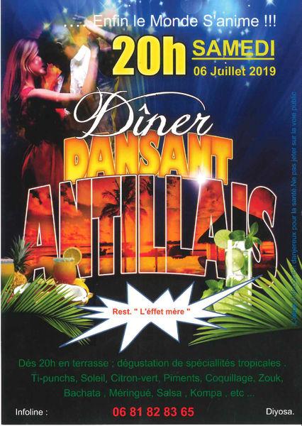 Dîner dansant antillais à La Seyne-sur-Mer - 0