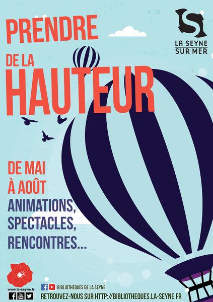 """Fête de clôture : spectacle interactif """"Les Z'arbres"""" par la Cie Virgule à La Seyne-sur-Mer - 0"""