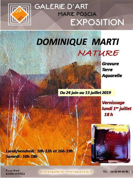 Exposition aquarelle / gravure / terre à Hyères - 0