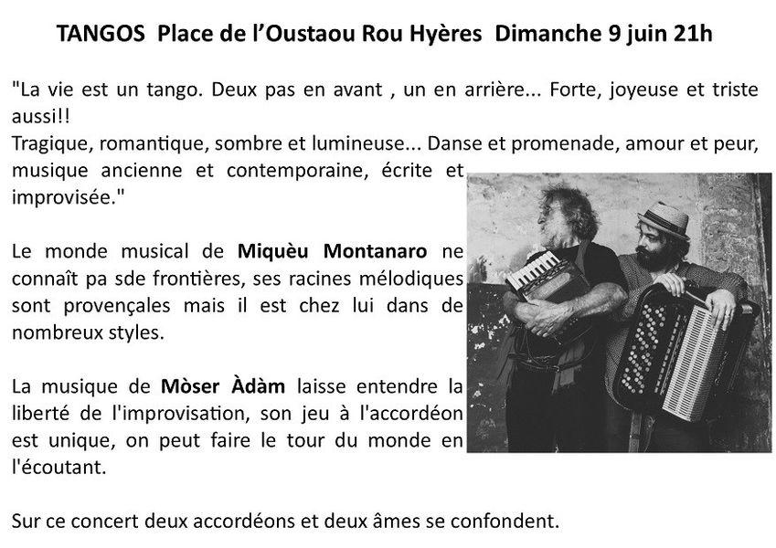 Soirée de printemps place de l'Oustaou Rou à Hyères - 1