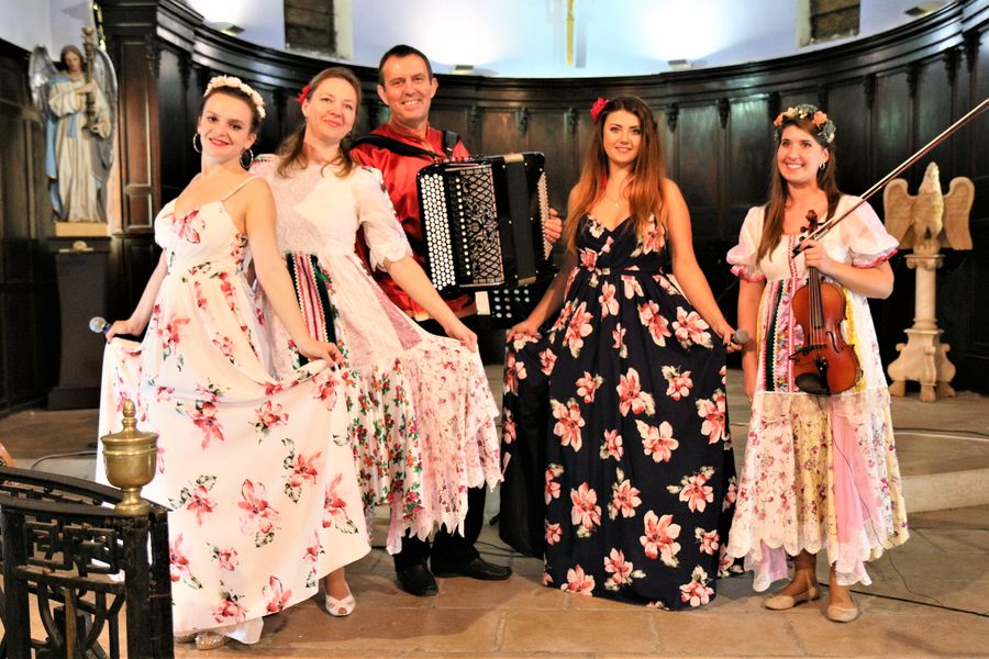 Grand concert de musique slave et tzigane avec l'ensemble Teremslave à Six-Fours-les-Plages - 0