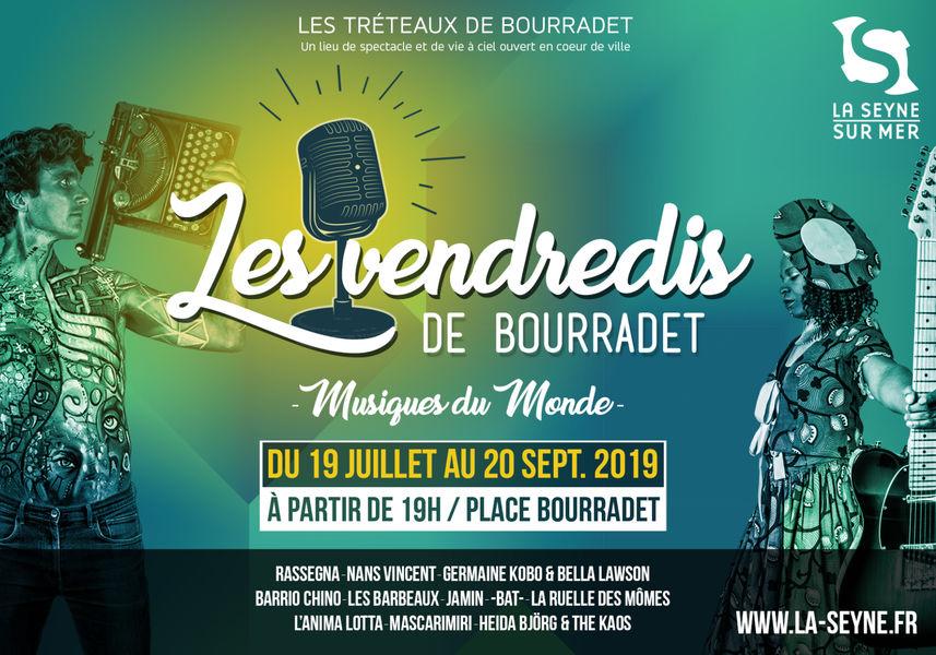 "Les Vendredis de Bourradet ""Jamin"" (mandoline survoltée) et ""-bat-"" à La Seyne-sur-Mer - 0"