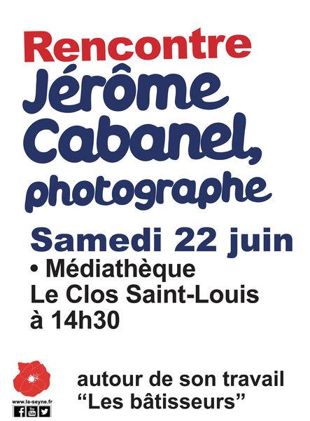 Rencontre avec le photographe Jérôme Cabanel à La Seyne-sur-Mer - 0