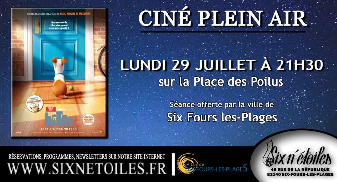 """Cinéma en plein air """"Comme des Bêtes"""" à Six-Fours-les-Plages - 0"""