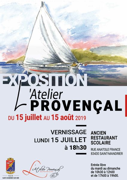 Exposition de l'Atelier Provençal à Saint-Mandrier-sur-Mer - 0