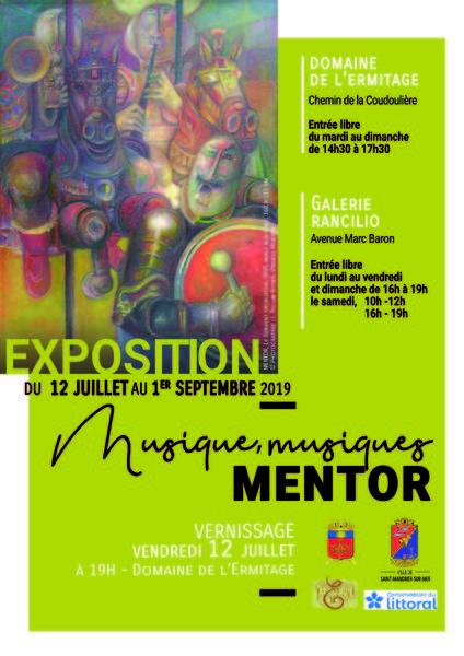"""Exposition """"Musique, musiques"""" de Mentor à Saint-Mandrier-sur-Mer - 0"""