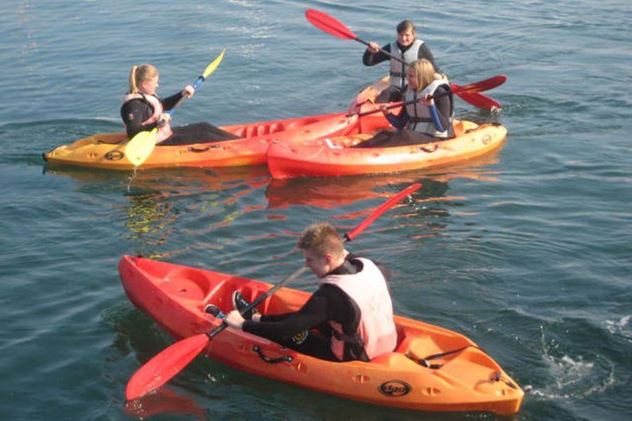Portes ouvertes Kayak et Voile à Carqueiranne - 1