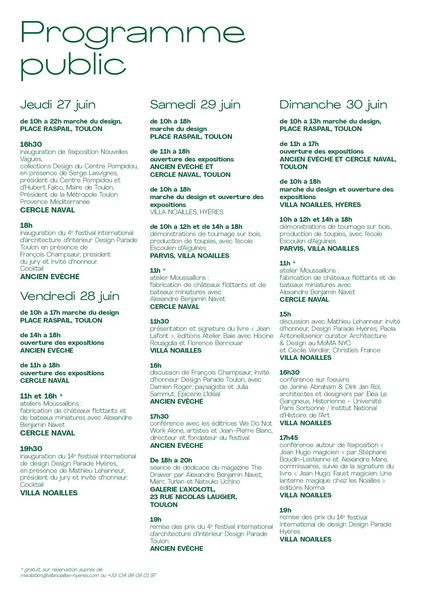 Festival Design Parade Toulon 4 à Toulon - 1