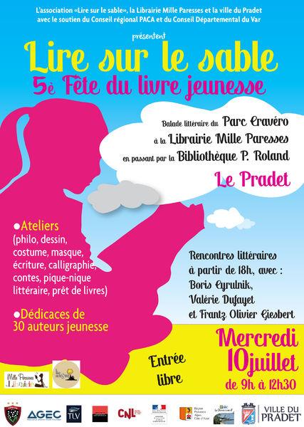 Fête du livre Jeunesse / rencontre littéraire à Le Pradet - 1