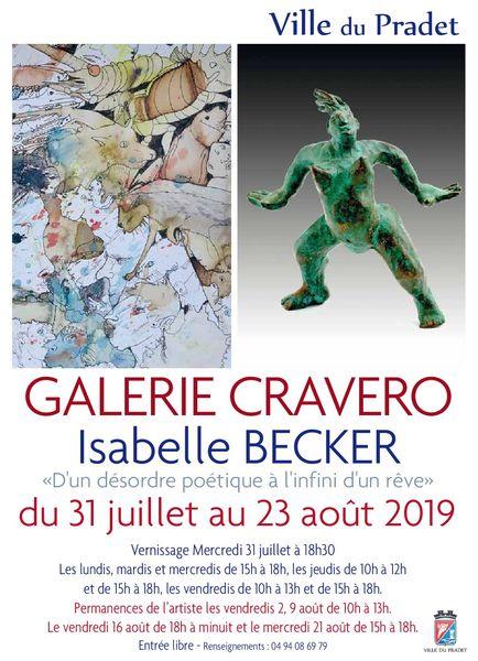 Exposition Isabelle Becker à Le Pradet - 0
