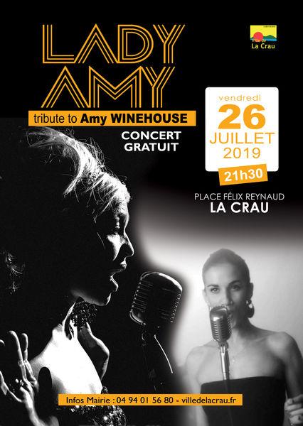 Concert Lady Amy à La Crau - 0