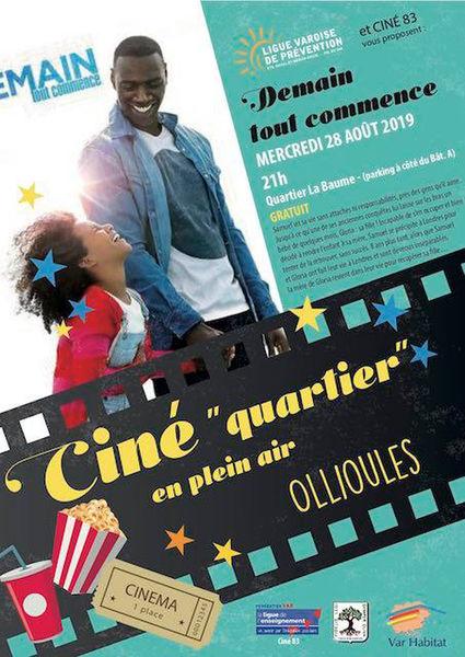 """Ciné """"quartier"""" en plein air : Demain tout commence à Ollioules - 0"""