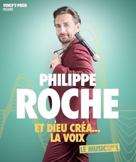 Spectacle – Philippe Roche dans « Et Dieu créa…la voix » à Toulon - 0