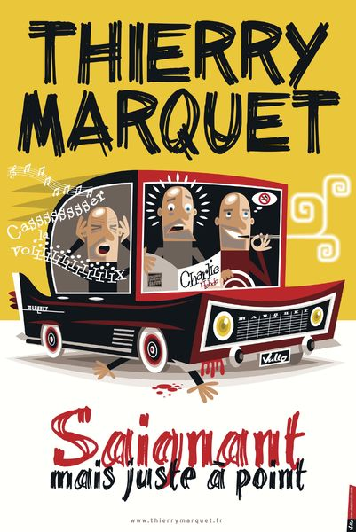 Spectacle – Thierry Marquet dans « Saignant mais juste à point » à Toulon - 0