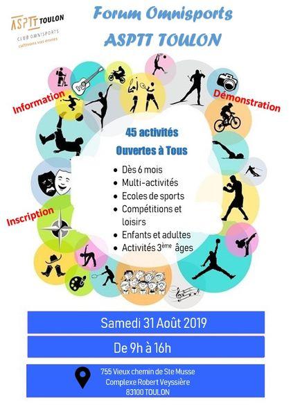 Forum Omnisports ASPTT Toulon à Toulon - 0