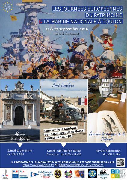 36es Journées Européennes du Patrimoine à Toulon - 1