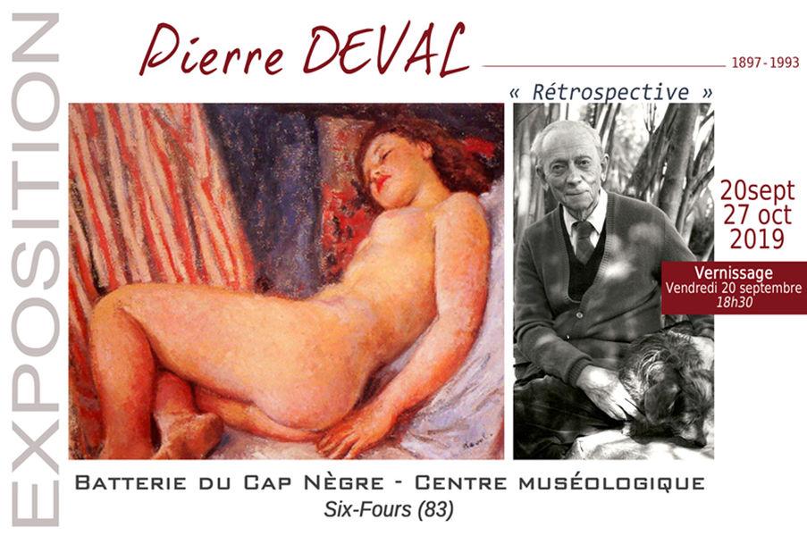 Rétrospective Pierre Deval (peinture et dessin) (1897 / 1993) à Six-Fours-les-Plages - 0