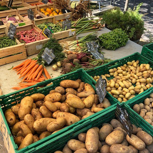 La Moutonne market à La Crau - 3