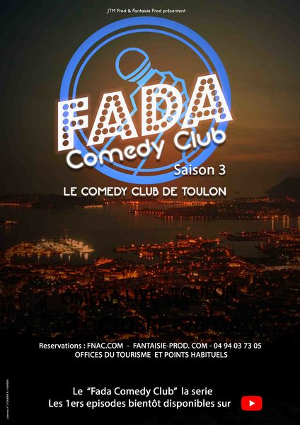 Annulé – Spectacle – Fada Comedy Club à Toulon - 1