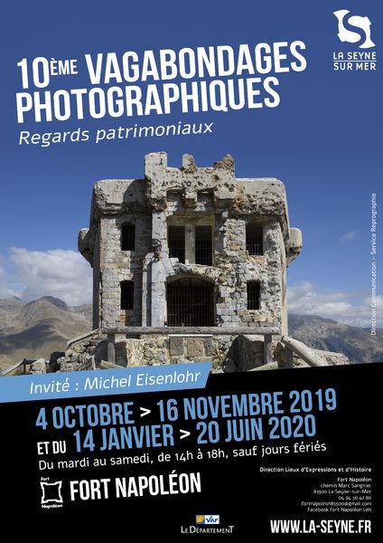 """10e Vagabondages photographiques """"Regards patrimoniaux"""" invité : Michel Eisenlhohr à La Seyne-sur-Mer - 0"""