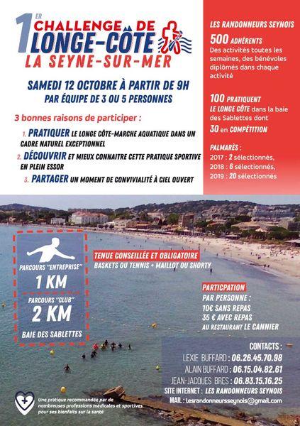1er challenge de longe côte marche aquatique à La Seyne-sur-Mer - 1