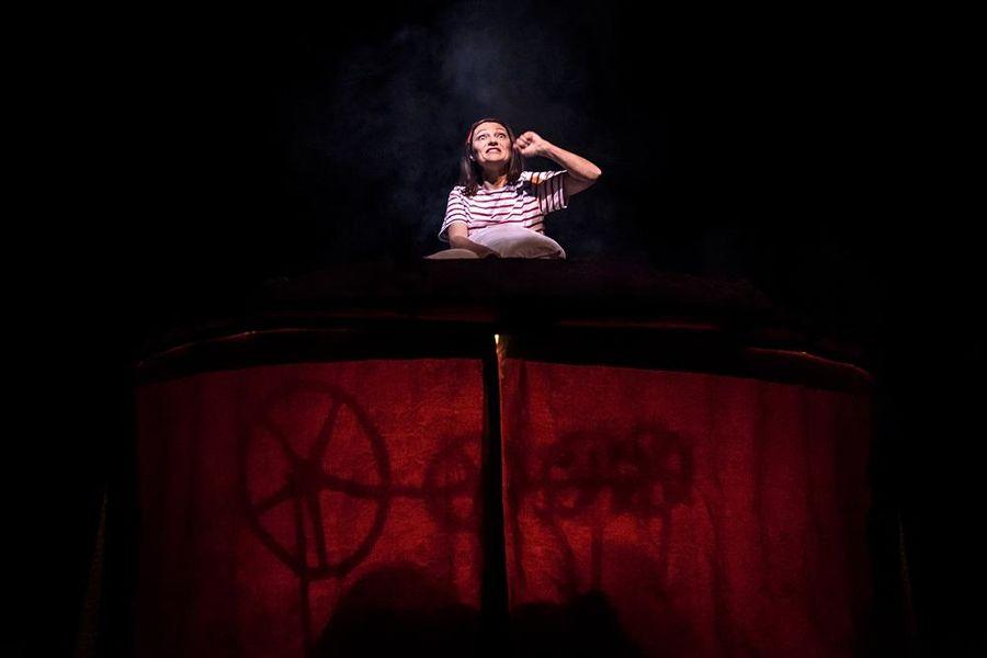 Chansons pour briser la coquille (theater for children) à Hyères - 1