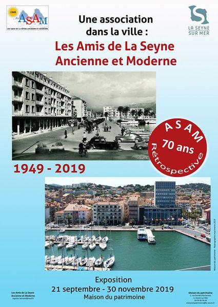 """Exposition """"Une association dans la ville : Les Amis de La Seyne ancienne et moderne"""" à La Seyne-sur-Mer - 0"""