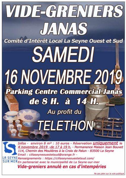 Vide-greniers Janas à La Seyne-sur-Mer - 0