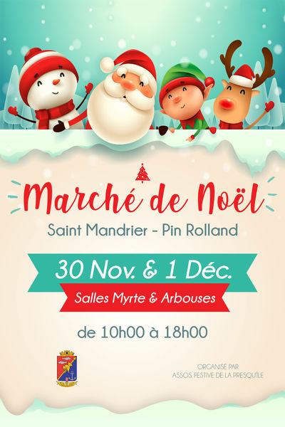 Marché de Noël à Saint-Mandrier-sur-Mer - 0