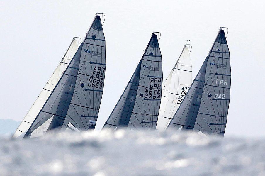 WorldCup SB20 sailing à Hyères - 0