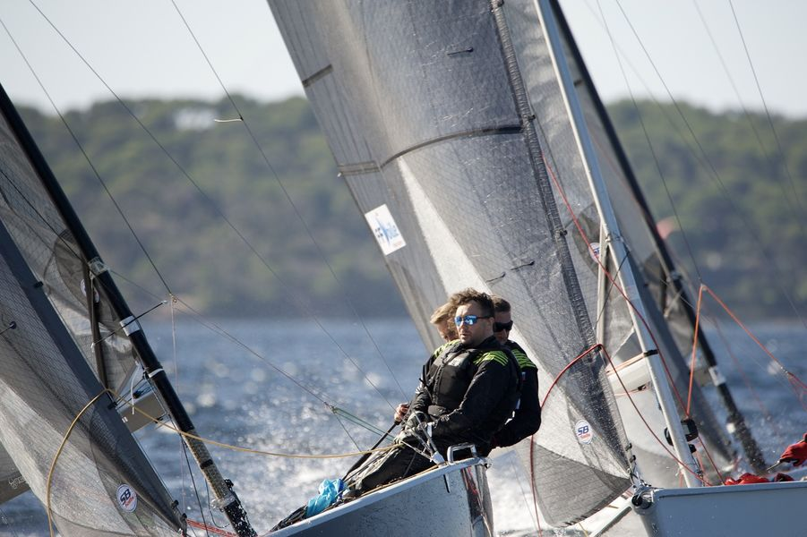 WorldCup SB20 sailing à Hyères - 2