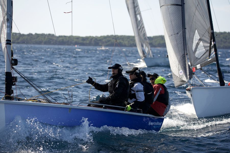 WorldCup SB20 sailing à Hyères - 3