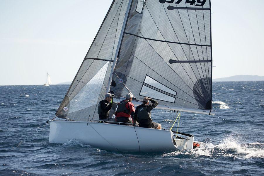 WorldCup SB20 sailing à Hyères - 4