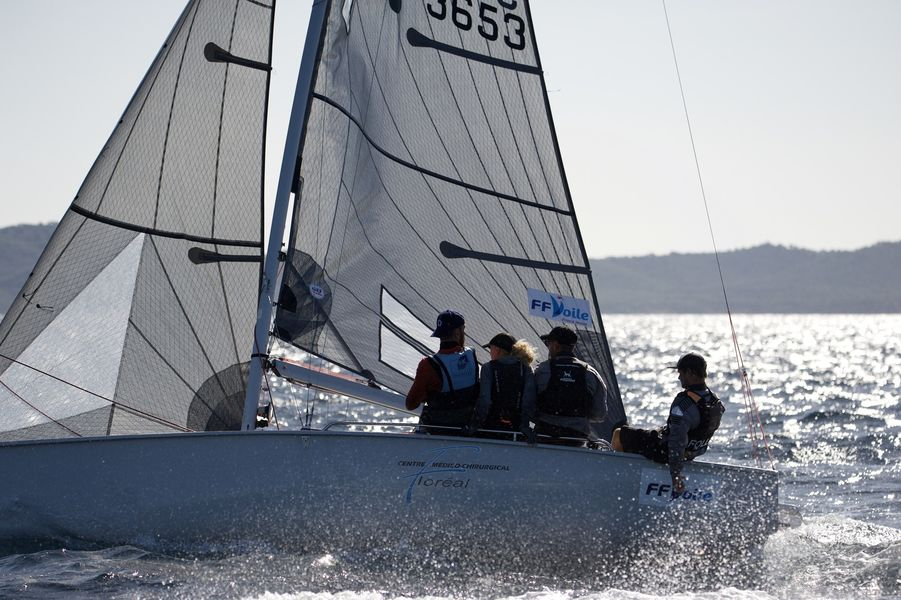 WorldCup SB20 sailing à Hyères - 9