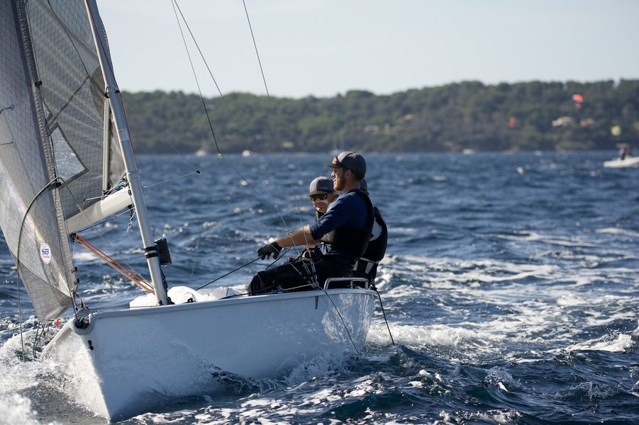 WorldCup SB20 sailing à Hyères - 11