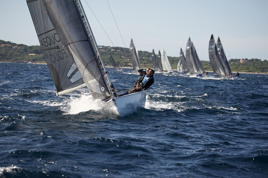 WorldCup SB20 sailing à Hyères - 12