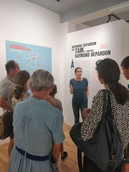 Visite guidée de l'exposition « Raymond Depardon » à Toulon - 1
