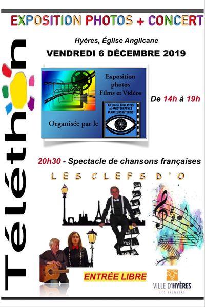 Exposition photos et concert «au profit du Téléthon» à Hyères - 1