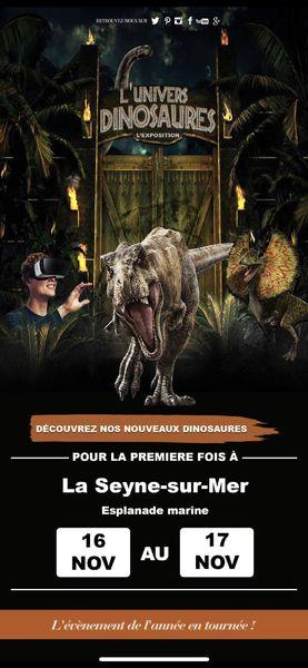 L'Univers des Dinosaures à La Seyne-sur-Mer - 1