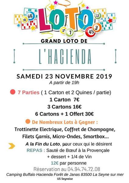 Grand loto de l'hacienda à La Seyne-sur-Mer - 0