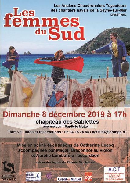 """Comédie-théâtre """"Les Femmes du Sud"""" à La Seyne-sur-Mer - 0"""