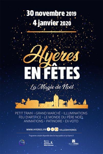 Ouverture d'Hyères en Fêtes, la magie de Noël à Hyères - 1